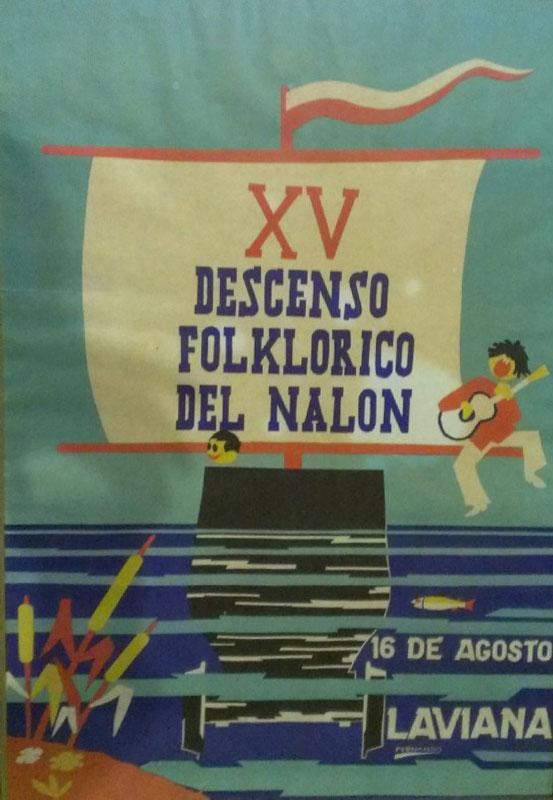 Cartel Descenso del Nalón 1982