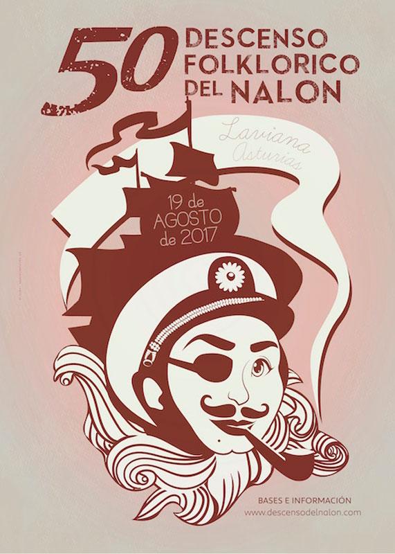 Cartel Descenso del Nalón 2017