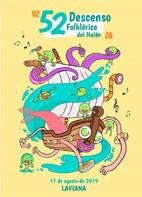 Programa del 52 Descenso Folklórico del Nalón