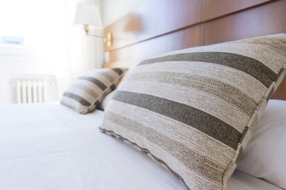 Dónde dormir en Laviana, imagen de habitación de hotel