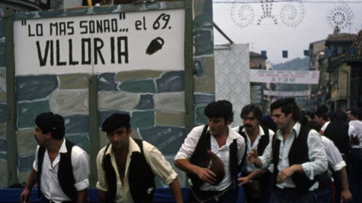 XV Descenso Folklórico 1982 Peña Villoria